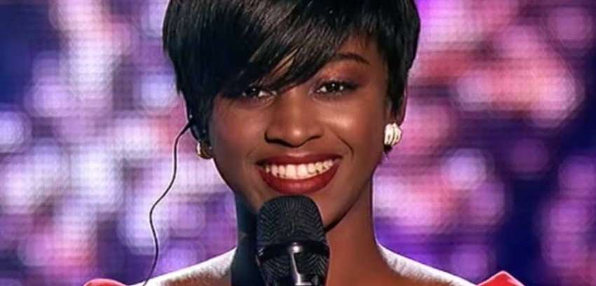 Nigerian student in Ukraine Feyikemi Oke impresses the judges at the voice Ukraine as she performs Adele's Hello